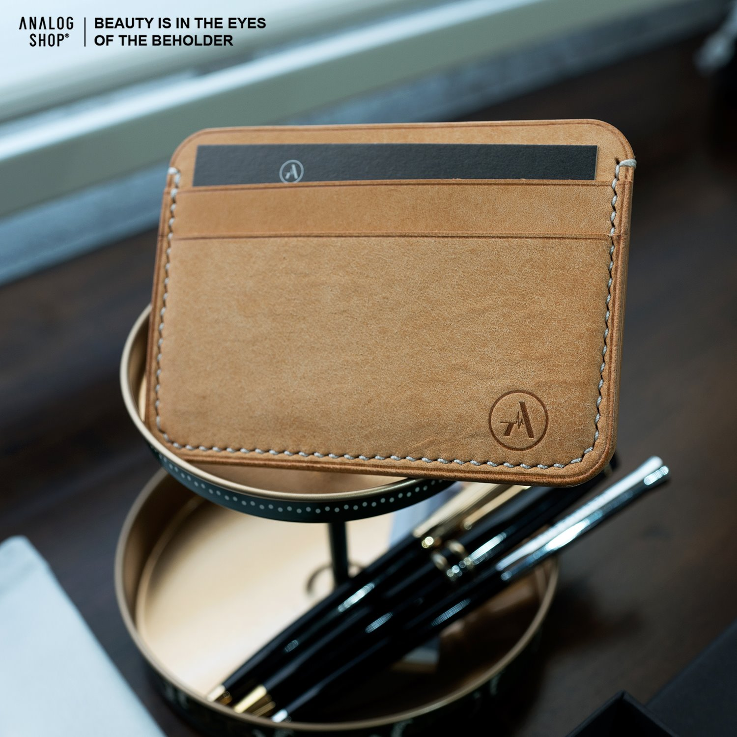 Leather Card Wallet No.1